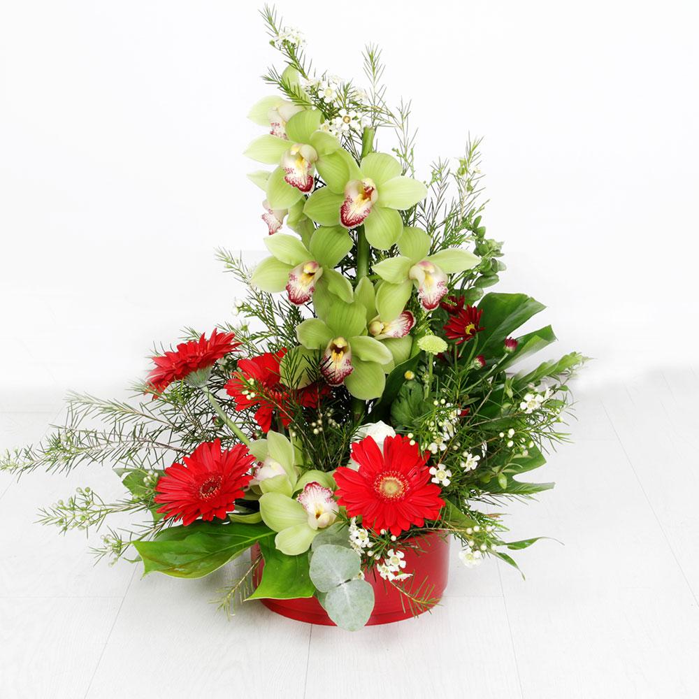Centro de flor variado | Trébol Floristas