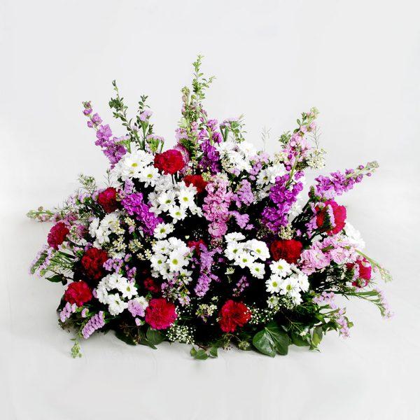 Almohadón variado multicolor | Trébol Floristas